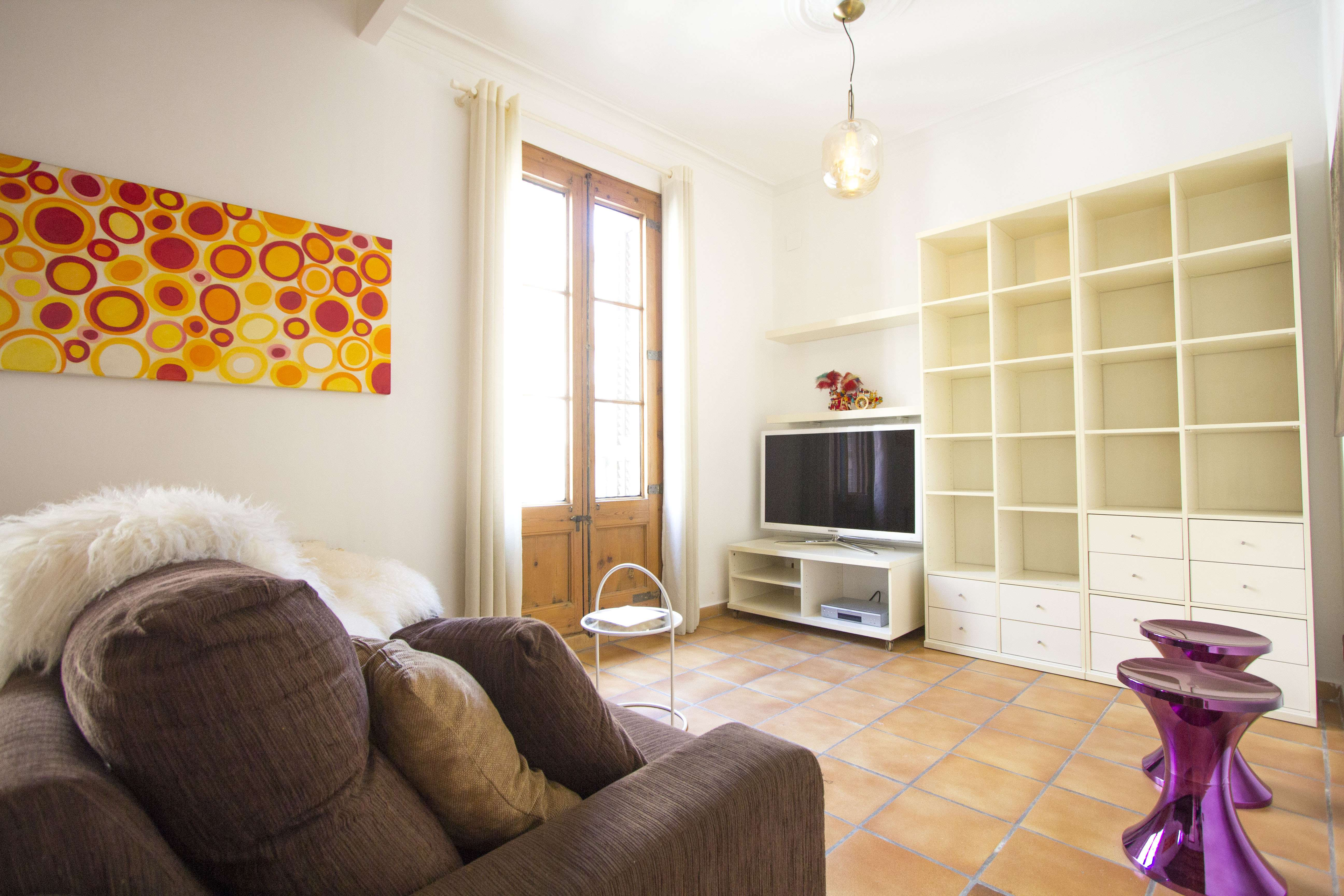 A wonderful apartment in the centre of Barcelona