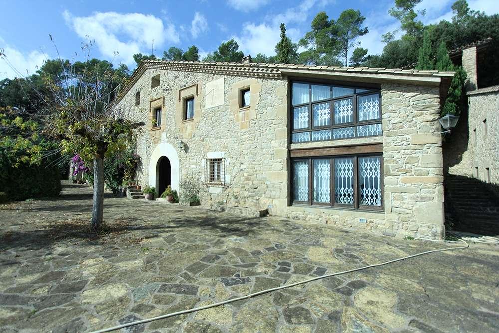 Classic spanish masia near Girona