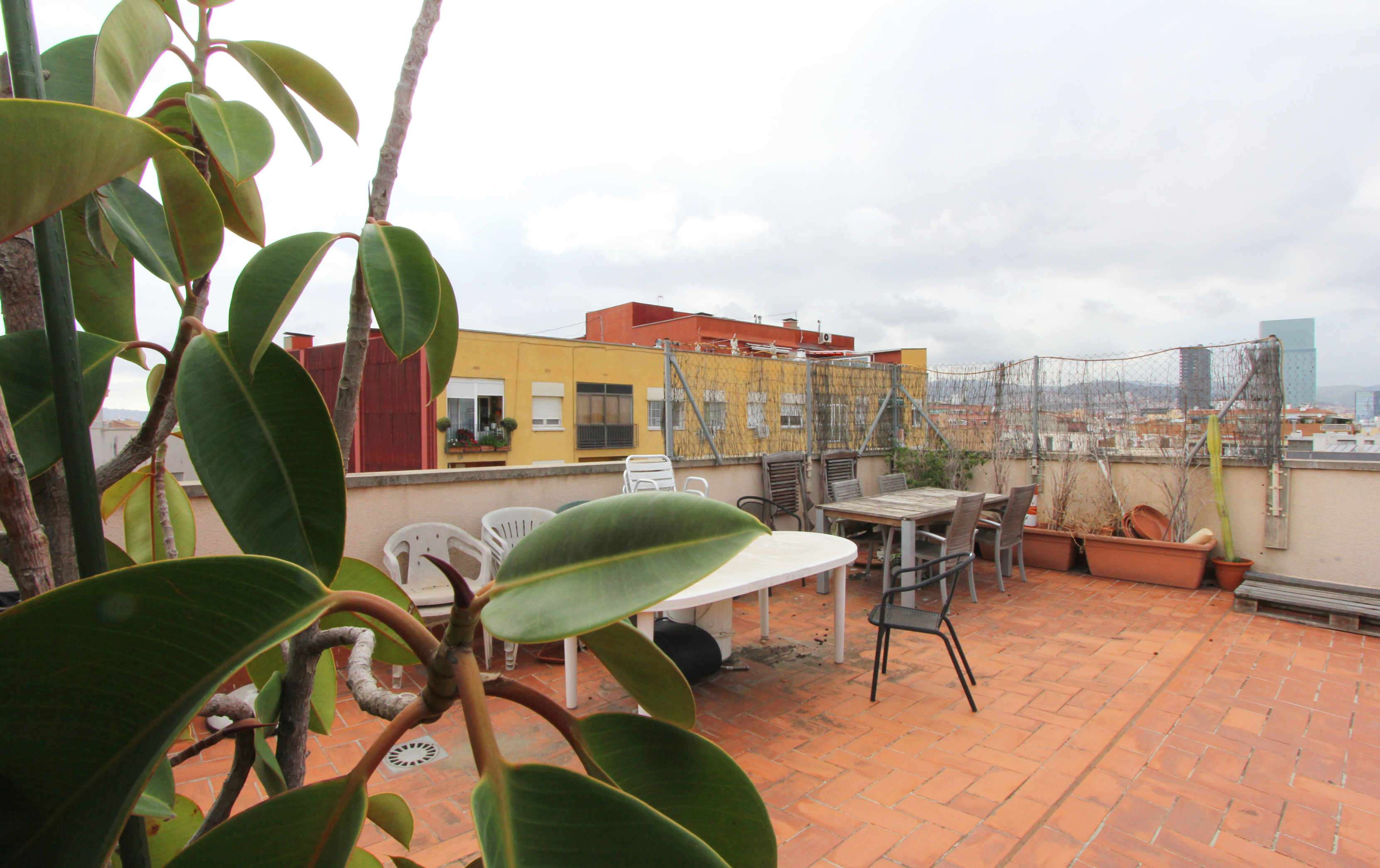 Penthouse with terrace in Poblenou
