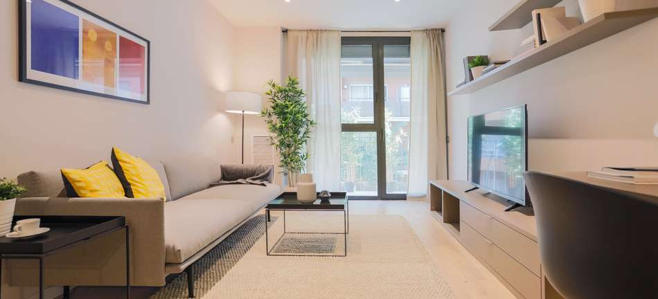 Apartment in a New Building near the Plaza Espanya, Barcelona
