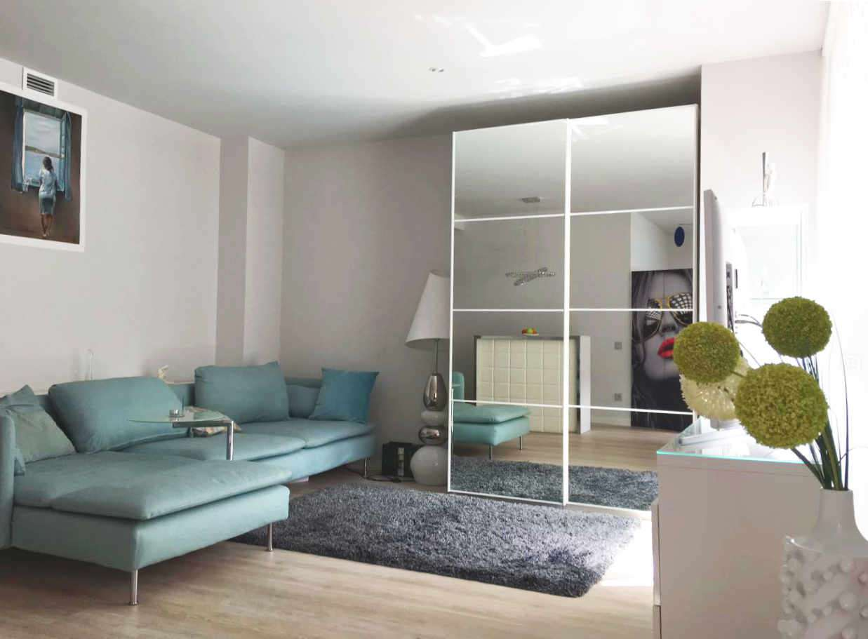 Studio with pool and parking in Poblenou