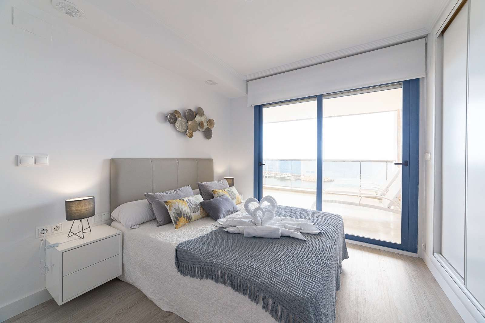 Flat with a sea view in Altea