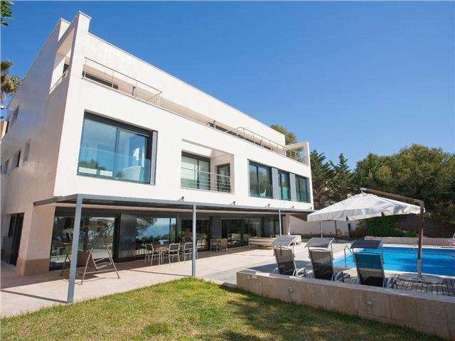 Villa with sea views and pool in Tamarit, Tarragona
