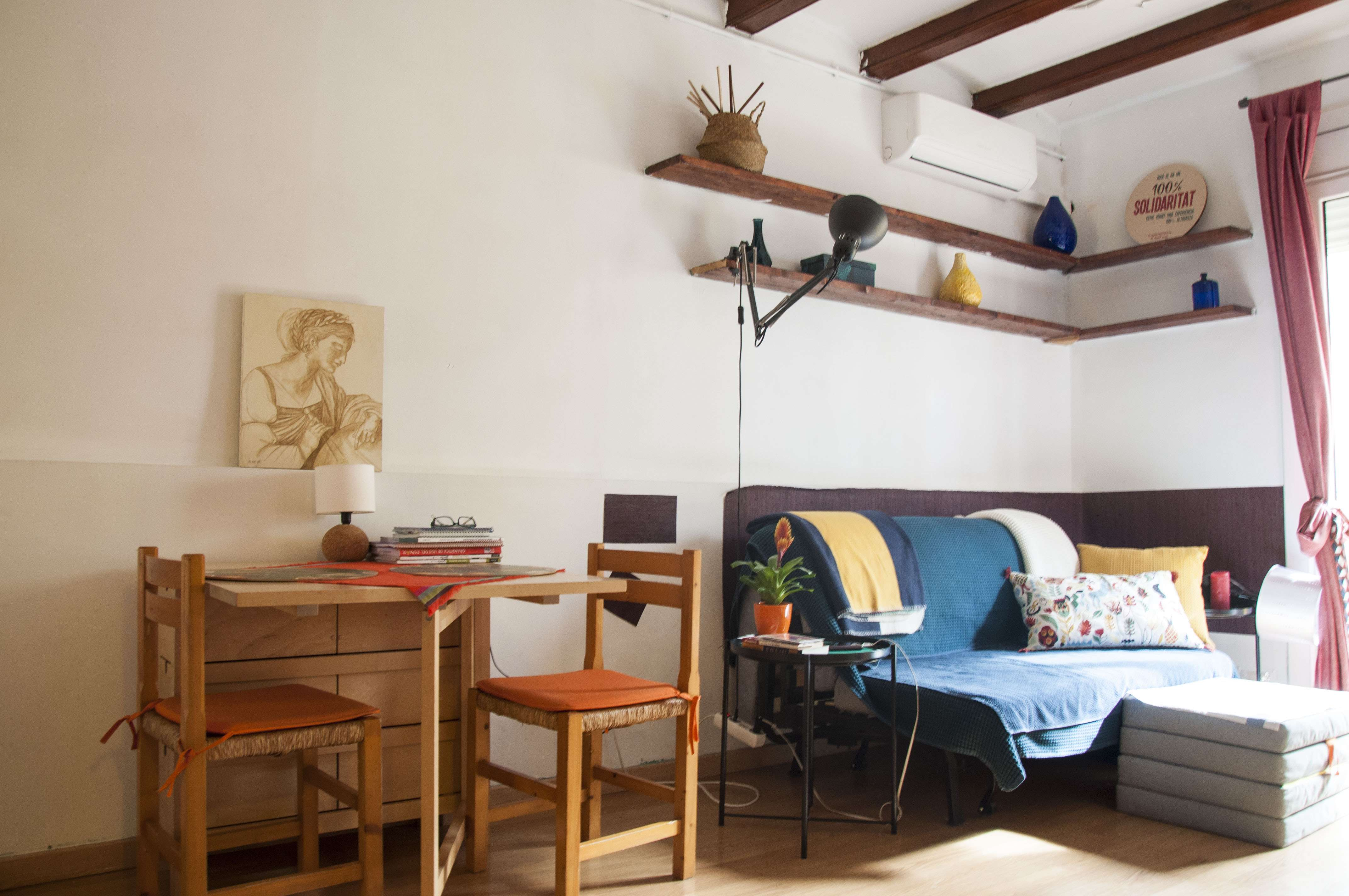Appartment with a balcony in Poble Sec