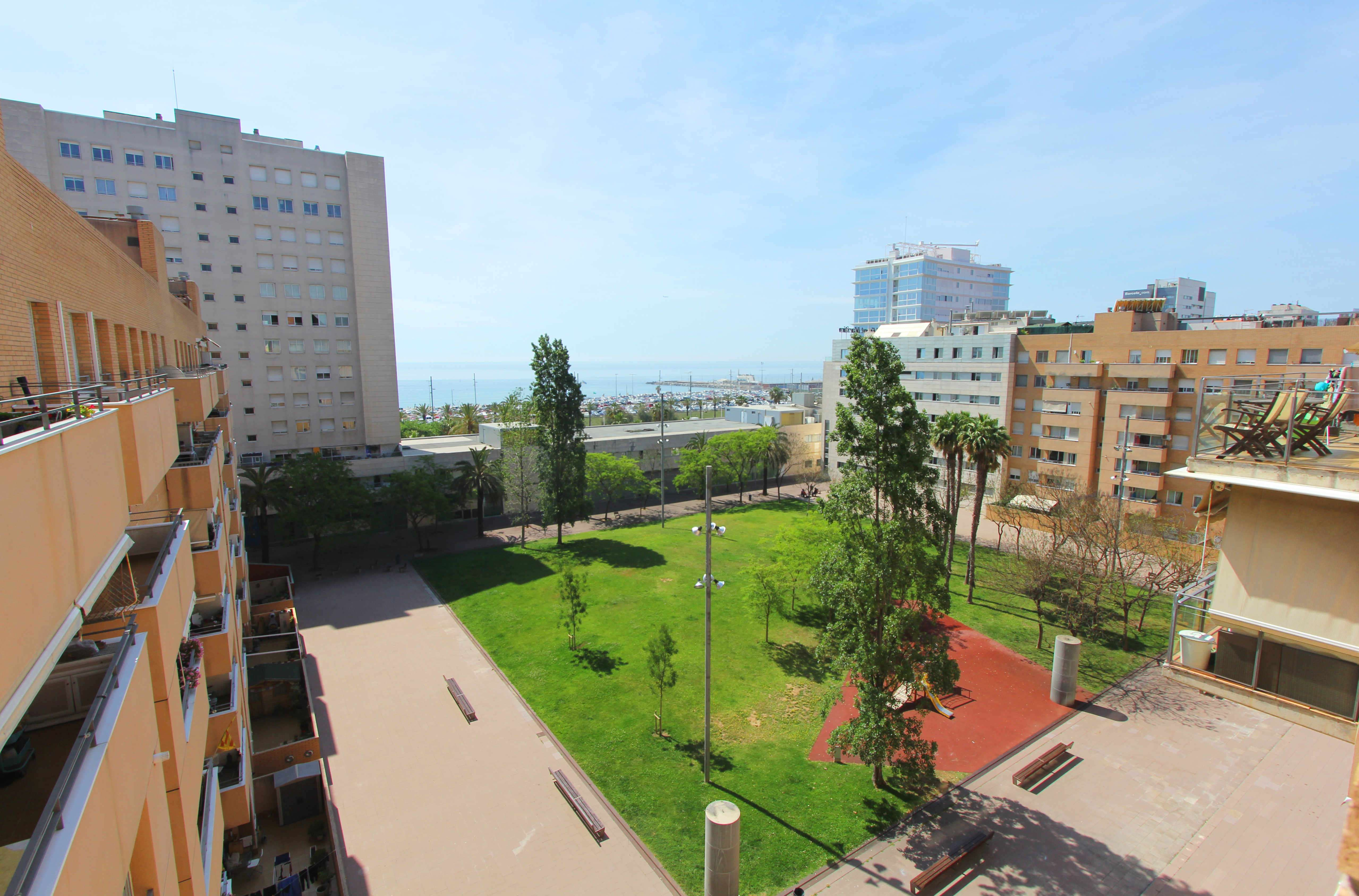 Bright apartment with sea view, Diagonal Mar