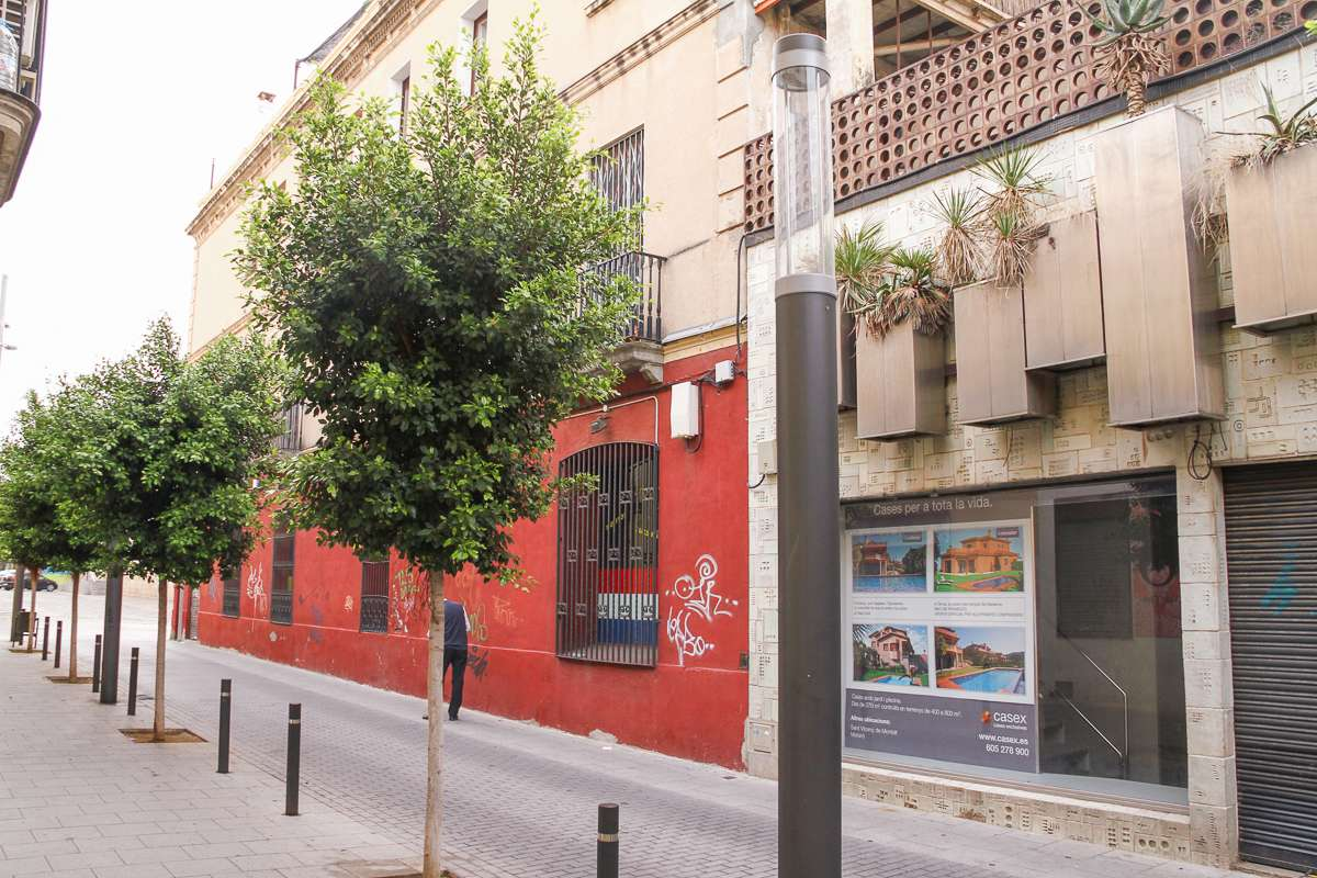 Building to restore in Mataró
