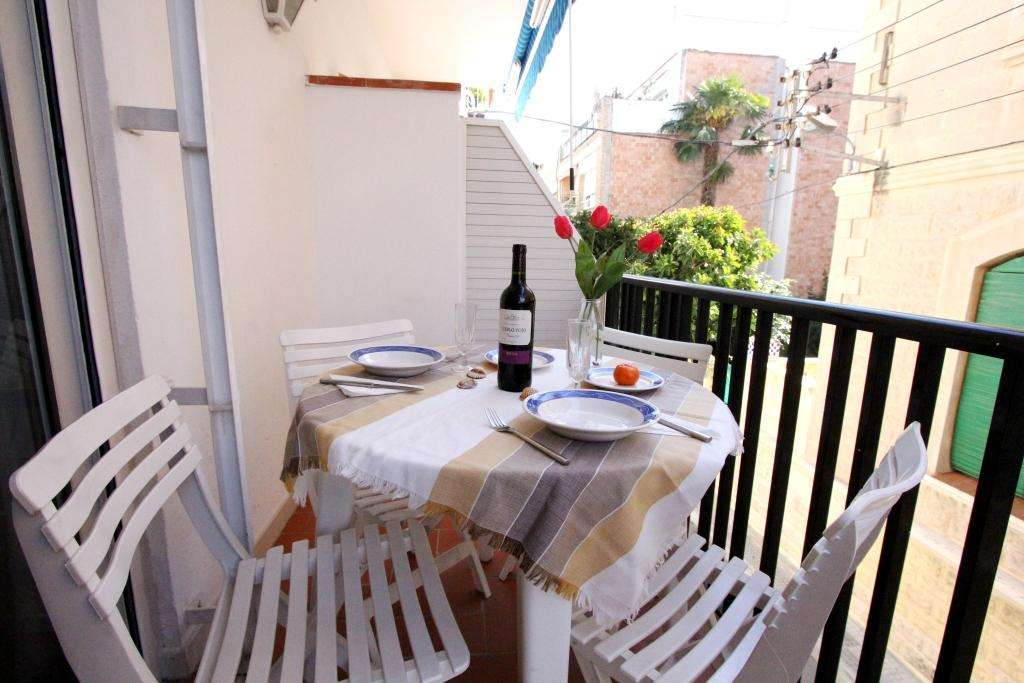 Apartment with balcony in Sitges