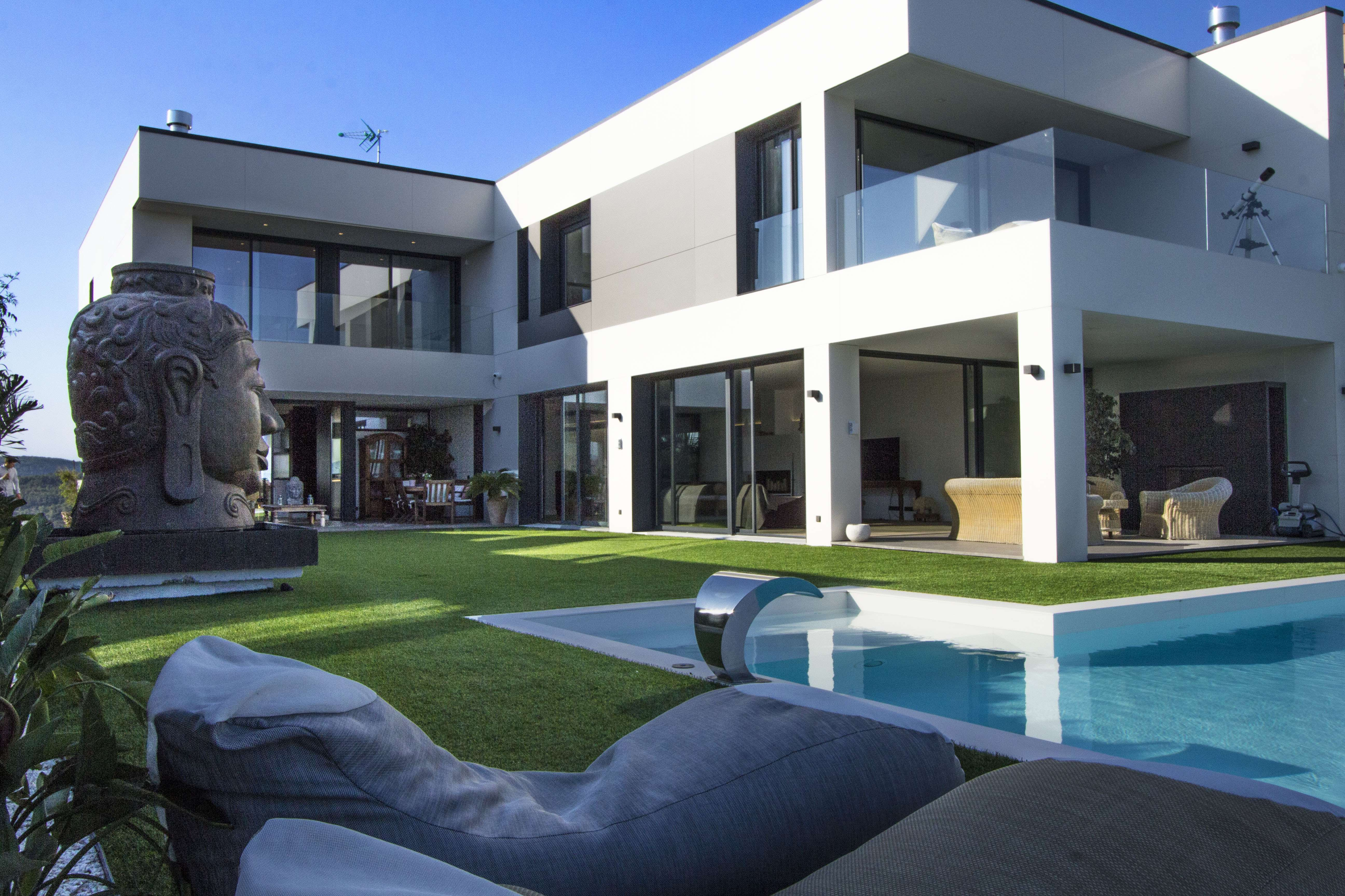 Luxury villa with pool in Mas Alba, Sitges