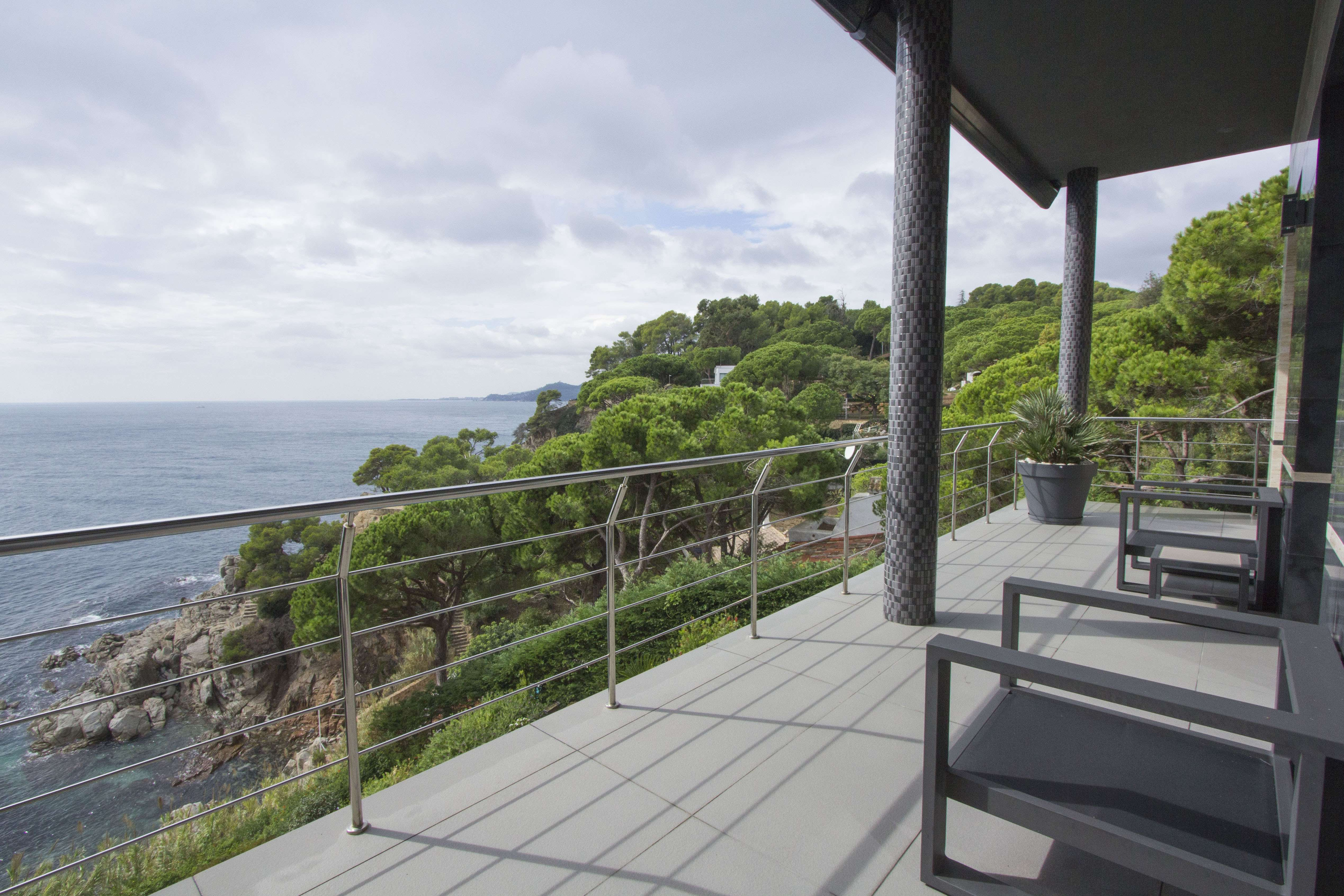 Villa in Lloret de Mar with Views of the Sea