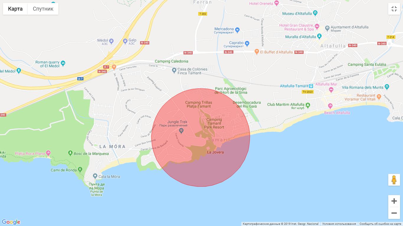 A land plot in Tamarit (Tarragona)