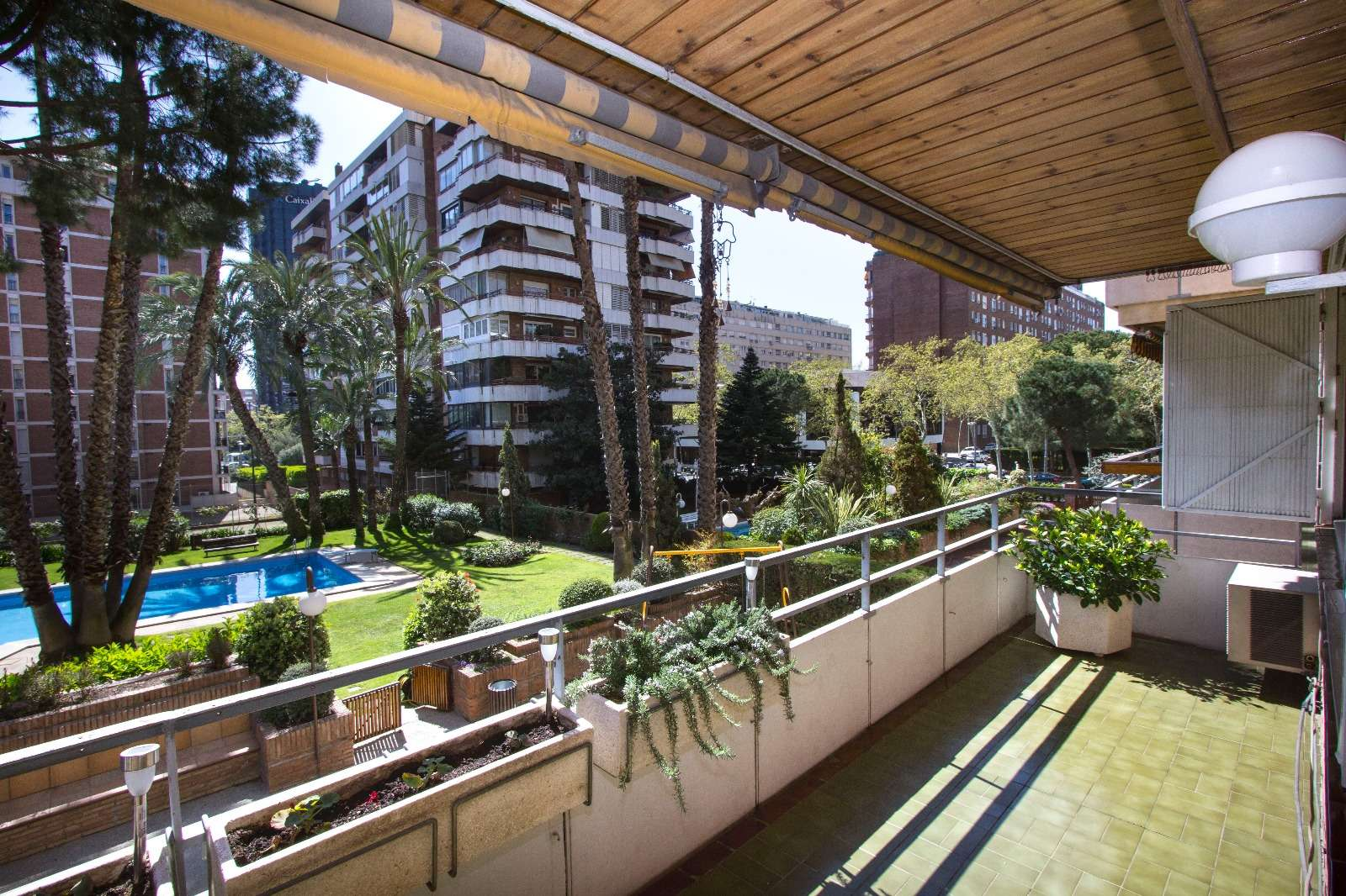 Apartment with a pool in Pedrables